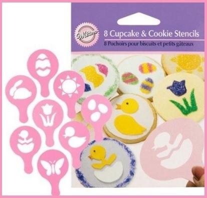 Decorazioni pasquali per biscotti