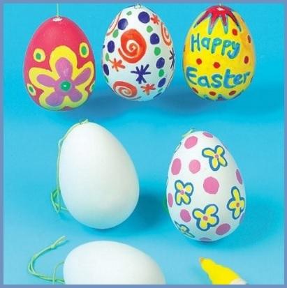 Uova di pasqua bambini da colorare