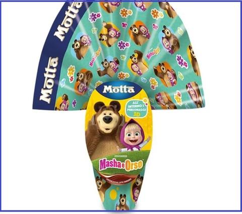 Uova di pasqua masha e orso