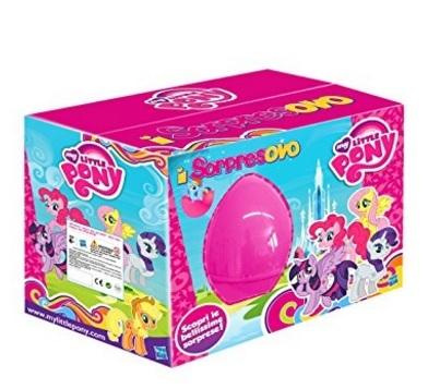 Uovo gigante sorpresovo my little pony