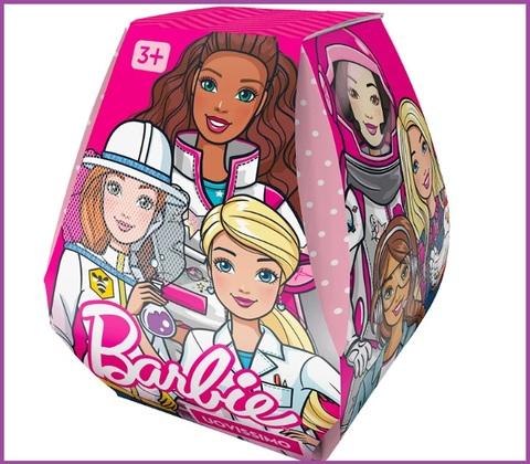 Uovo gigante per la pasqua delle barbie