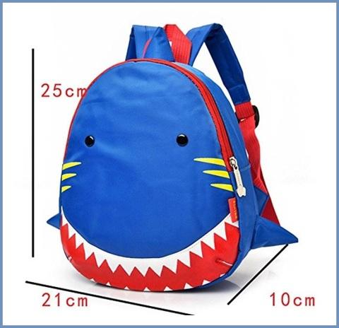 Zaino squalo per bambini