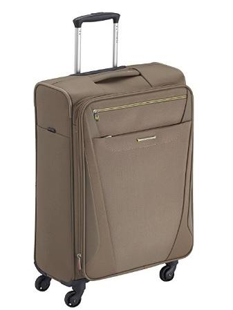 Valigia leggera samsonite dal colore marrone
