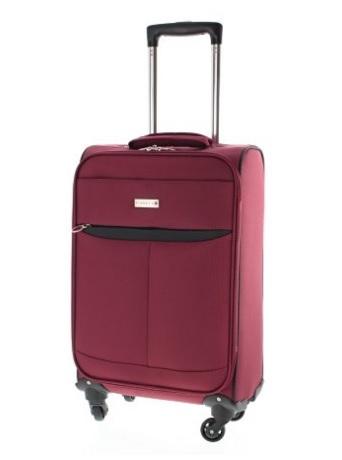 Valigia rossa da viaggio pianeta morbida