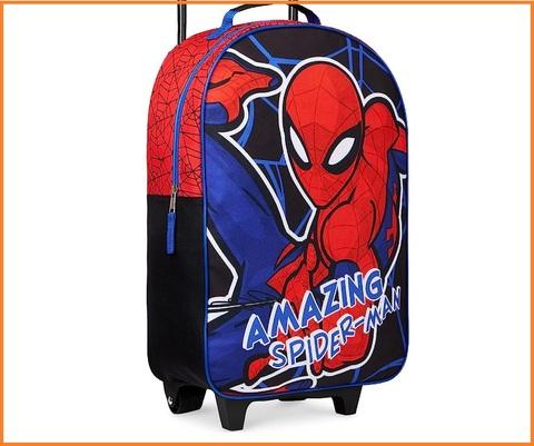 Valigia a mano per bambini di superman vs batman