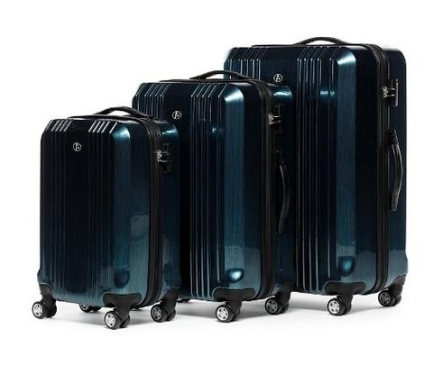 Set valigie resistenti e leggere in abs