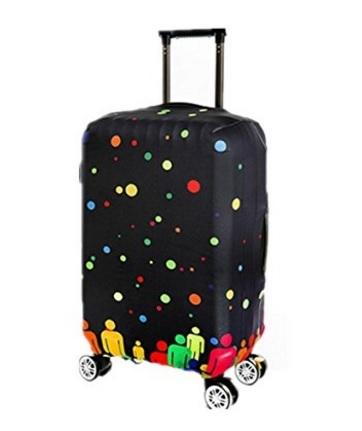 Valigia multicolore ultra leggera