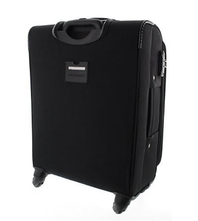 Trolley valigia morbida dal colore nero