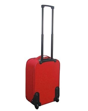 Valigia rossa morbida ottima per viaggiare