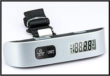 Bilancia pesa valigie moderno