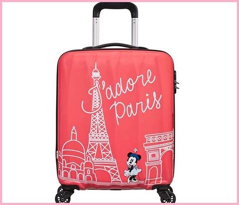 Valigia american tourister rosa