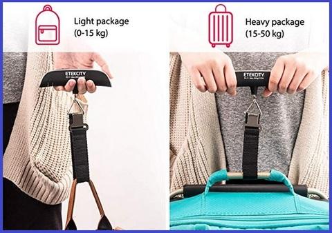 Bilancia pesa valigie portatile