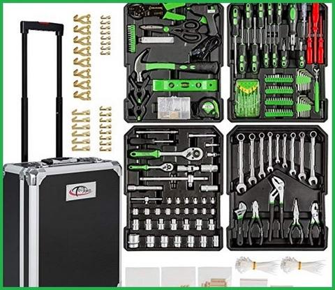 Valigia attrezzi completa professionale per elettricista