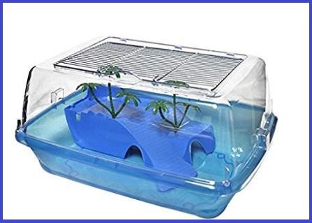 Vasca per tartarughe d'acqua in plastica