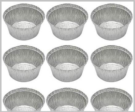 Vaschette alluminio rotonde
