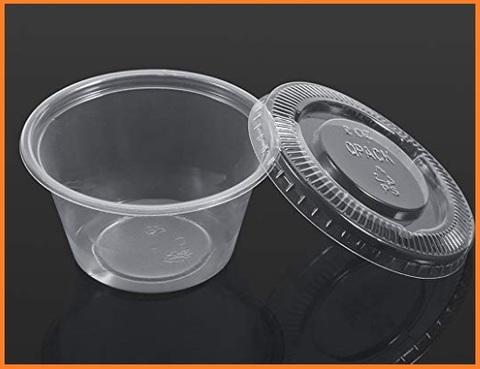 Vaschette ovali con coperchio