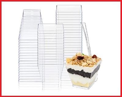 Contenitori monouso per dolci dessert