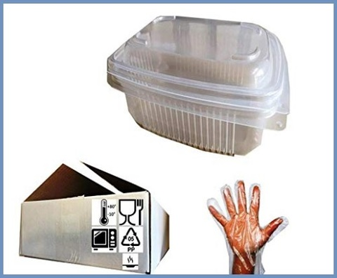 Vaschette usa e getta microonde