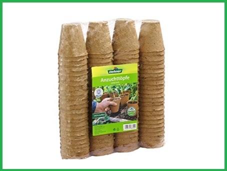 Vaso biodegradabile 96 pezzi