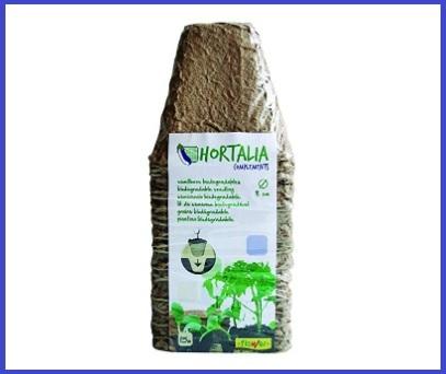 Vaso biodegradabile 18 pezzi