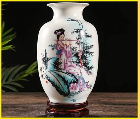 Vaso in ceramica decorato