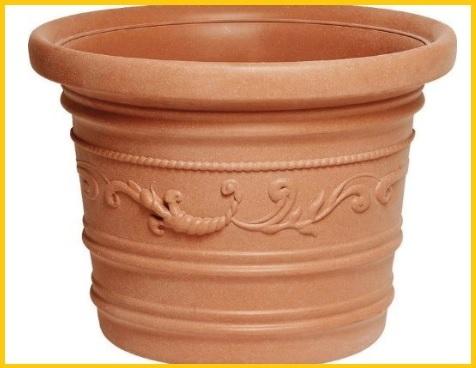 Vasi resina per piante da esterno