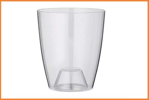 Vaso in plastica trasparente alta qualità