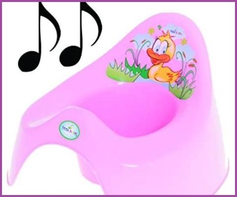 Vasino musicale bambina
