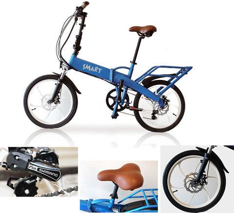 Biciclette A Pedalata Assistita Pieghevoli