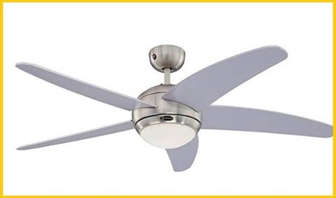 Ventilatore da soffitto con tre luci