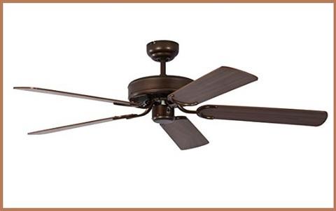 Ventilatore da soffitto senza luce con telecomando
