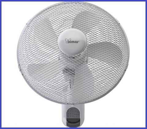Ventilatori a parete con telecomando