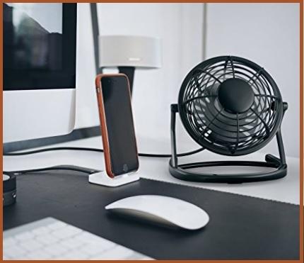 Ventilatore usb scrivania