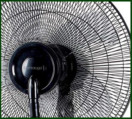 Ventilatore nebulizzatore e acqua