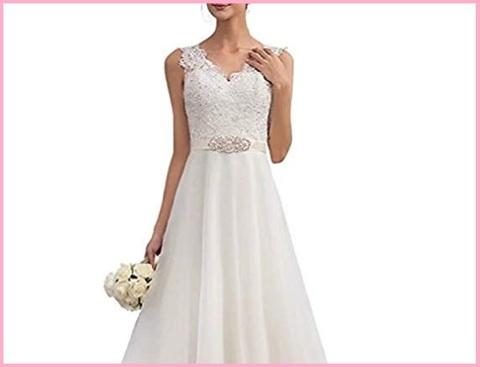Vestiti da sposa matrimonio bianco
