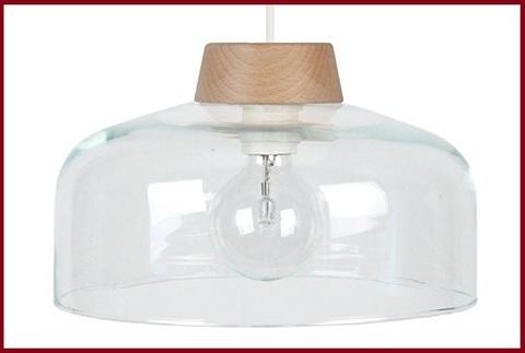 Vetro soffiato lampada