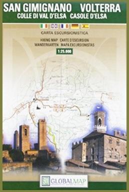 Guida turistica carta escursionistica volterra