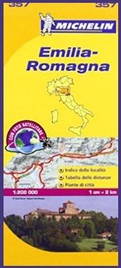 Mappa in scala emilia romagna