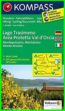 Carta Escursionistica Del Lago Trasimeno