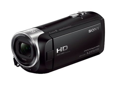 Videocamera sony hdr zeiss con zoom