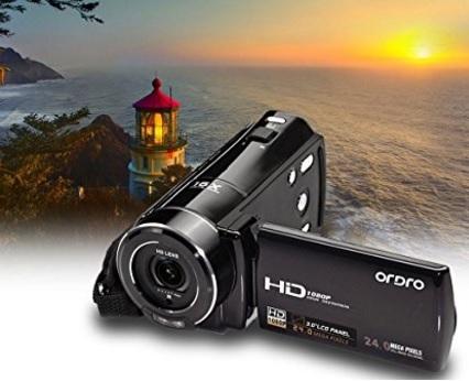 Videocamera digitale camcorder ruotabile