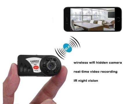 Mini videocamera spia da poter usare con smartphone