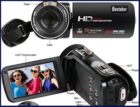 Videocamera besteker digitale