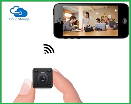 Mini Videocamere Wifi Interno