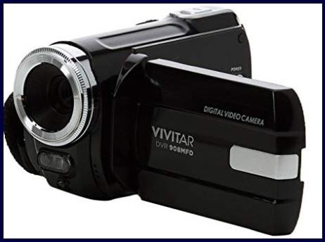 Videocamera vivitar schermo