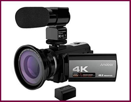Videocamera andoer 4k