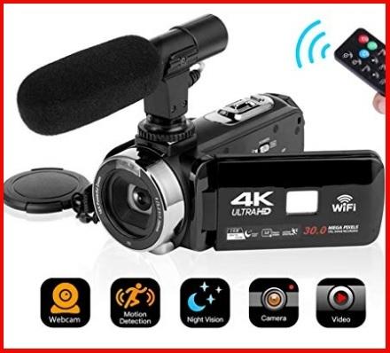 Videocamere digitali full hd con microfono