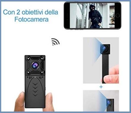 Videocamere nascoste portachiavi