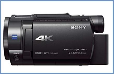 Videocamere professionali sony