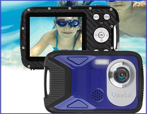 Fotocamera digitale bambini subacquea